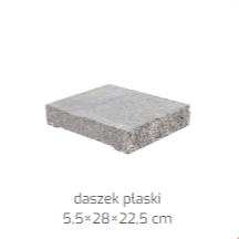 Ogrodzenie Antara II - daszek płaski - Polbruk 7