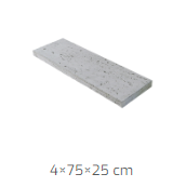 Linea Trawertyn 75x25x4cm 2
