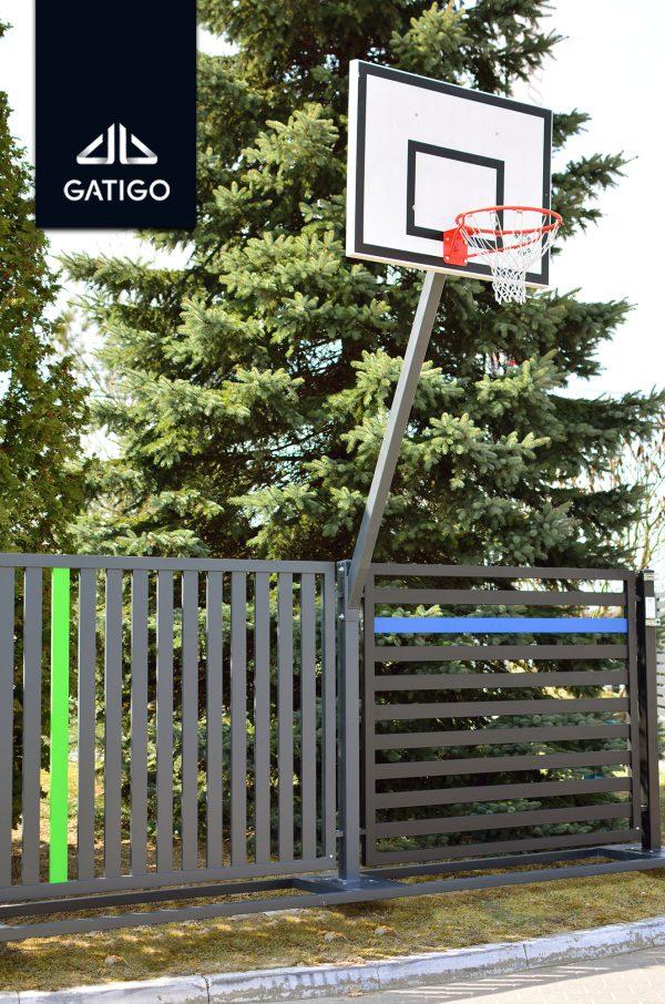 Zestaw do koszykówki z koszem na wysokość 3.05 Profesjonalny 2