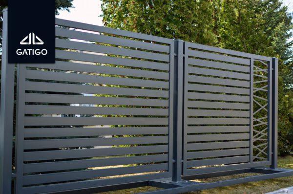 Brama dwuskrzydłowa GNH8020 3
