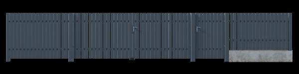 Brama przesuwna GLW8020 2