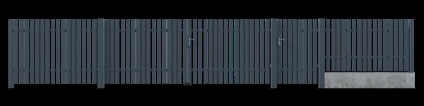 Brama dwuskrzydłowa GLW8020 3
