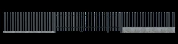Brama dwuskrzydłowa GLW8030 3