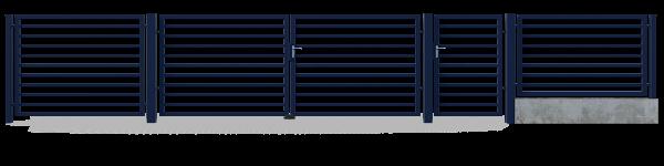 Brama przesuwna GMH4020 2