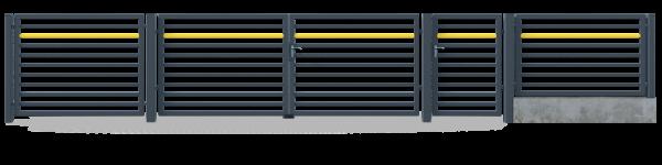 Brama przesuwna GMH4020 6