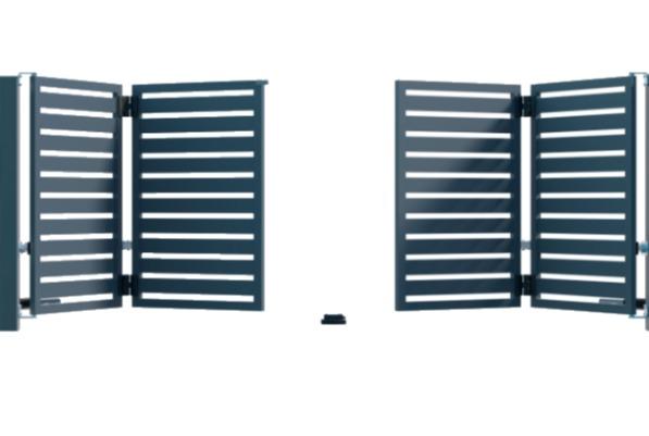 Brama składana dwustronnie GMH8020 1