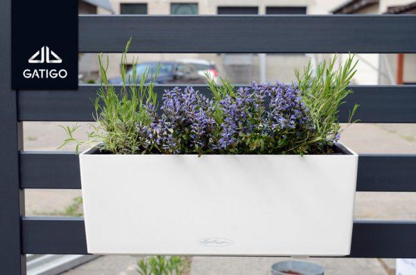 Kwiatowy ogród Doniczki na ogrodzenie GMH i GNH 2