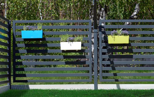 Kwiatowy ogród Doniczki na ogrodzenie GMH i GNH 1