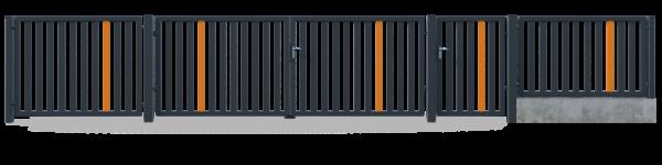 Brama przesuwna GMW8020 3